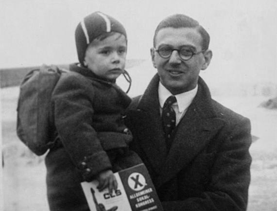 young_nicholas_winton_with_rescued_child