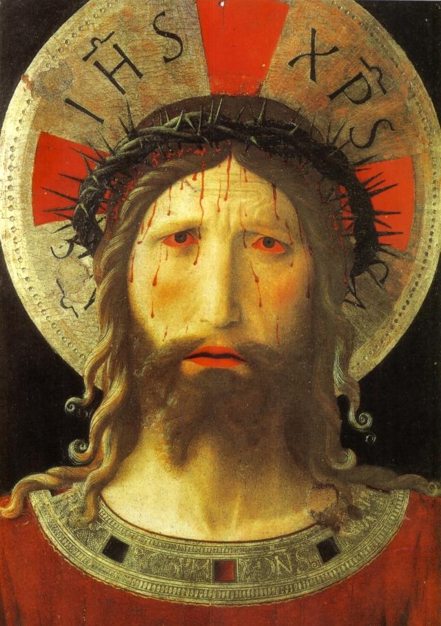 Beato_angelico,_Cristo_coronato_di_spine,_livorno,_1420_circa