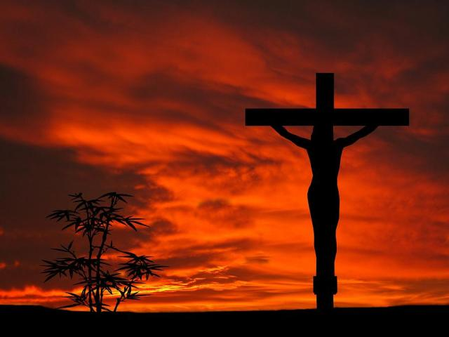 crucifixion-sunset-silhouette-series-david-dehner